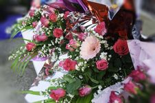 Free Bouquet Of Roses Stock Image - 30775651