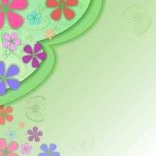 Free Summer Green Background Royalty Free Stock Photography - 30776047