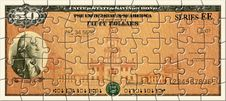 Free Savings Bond Puzzle Stock Photos - 30784443