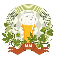 Free Beer Label Stock Photography - 30784692