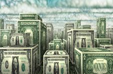 Free Dollar City Stock Photos - 30784913