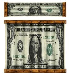 Free Stretched Dollars Stock Photos - 30785343