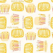 Make A Wish Pattern Royalty Free Stock Photo
