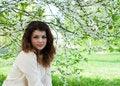 Free Young Girl In The Spring Garden Stock Photos - 30791833