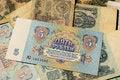 Free Soviet Money Royalty Free Stock Photography - 30794347
