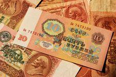 Free Soviet Money Stock Image - 30794281