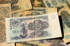 Free Soviet Money Royalty Free Stock Photography - 30794297