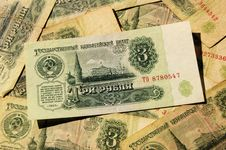 Free Soviet Money Stock Photo - 30794370