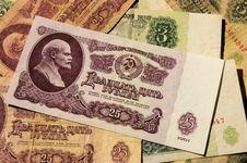 Free Soviet Money Stock Images - 30794394