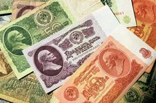 Free Soviet Money Royalty Free Stock Images - 30794409