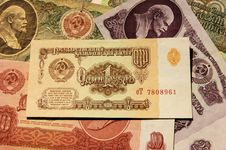 Free Soviet Money Stock Image - 30794421