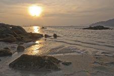 Free Sunset At Sunset Beach, Koh Lipe Stock Photography - 30794592