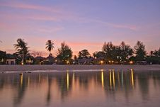 View Of Sunrise Beach At Koh Lipe, Thailand Stock Photography