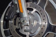 Free Motorcycle Brake Disc Stock Image - 30799521