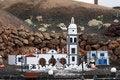 Free White Church In A Village Stock Photo - 3084770