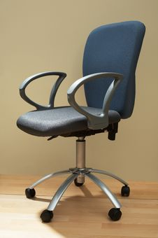 New And Modern Chair Royalty Free Stock Photography