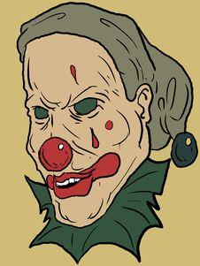 Free Vector Clown Royalty Free Stock Photo - 3080765