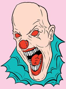 Free Vector Clown Stock Images - 3080774