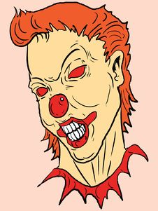 Free Vector Clown Royalty Free Stock Image - 3080776