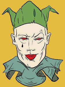 Free Vector Clown Royalty Free Stock Photos - 3080778