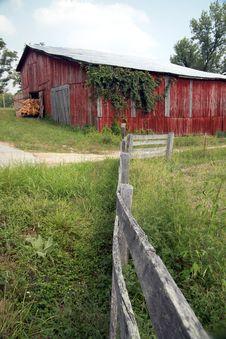 Free Road Side Barn Royalty Free Stock Photo - 3081555