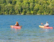 Free Kayakers Stock Image - 3081871