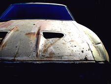 Dark Car Stock Photos