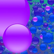 Free Bubble Mania Purple Royalty Free Stock Photography - 3082727