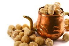 Free Hazelnuts Amd Cupper Cup Stock Image - 3083001