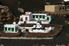 Hacienda House Stock Image