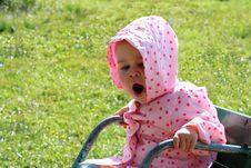 Free Yawning Baby Stock Images - 3084464