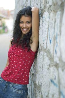Free Beautiful Smiling Girl Stock Photos - 3084643