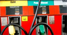 Free Gasoline Dispenser Royalty Free Stock Photo - 3085325