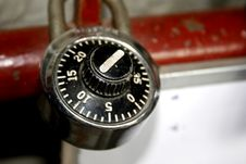 Free Combination Lock Royalty Free Stock Photos - 3085358