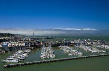 Free Golden Gate Bridge & Marina Stock Photo - 3085720