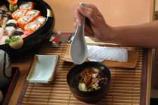 Free Japanese Soup Royalty Free Stock Photos - 3087188