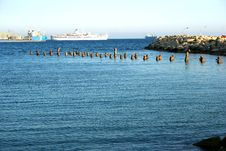 Free Broken Pier Stock Photo - 3087260
