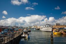 Free Harbor On A Sunny Day Royalty Free Stock Photos - 3087778