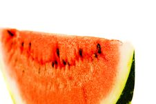 Free Slice Of Watermelon. Close-up Stock Photography - 3087872