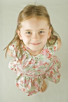 Free Smiling Young Girl Stock Photo - 3088280