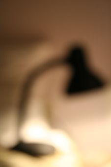 Lamp - Blurred Royalty Free Stock Image