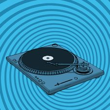 Free Turntable Royalty Free Stock Photography - 3089967