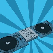 Free Retro Deejay Royalty Free Stock Images - 3089969