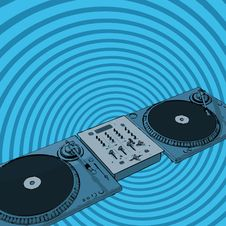 Free Retro Deejay Stock Photos - 3089973