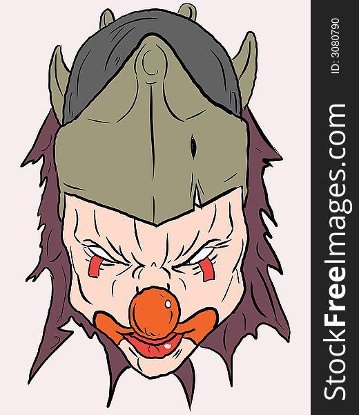Vector clown