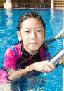 Free Girl Side Of Swimming Pool Stock Images - 30801564