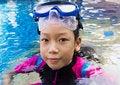Free Girl Side Of Swimming Pool Stock Photo - 30801930