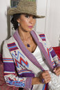 Free Beautiful Woman Wearing Designer Jacket Royalty Free Stock Photography - 30809487