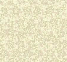 Free Floral Seamless Background. Gentle Flower Pattern. Stock Photography - 30801162