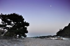 Free Twilight Shot Of Arashiyama,a Touristic Area In The North West P Royalty Free Stock Image - 30808246
